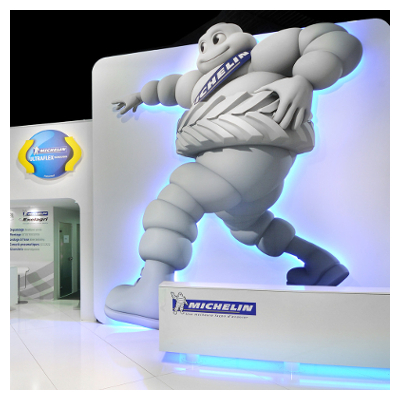 Michelin – Design stand